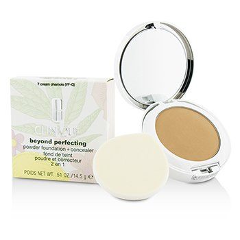 Clinique Beyond Perfecting Base en Polvo + Corrector - # 07 Cream Chamois (VF-G)