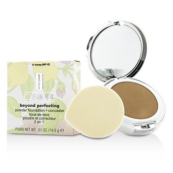 Clinique Beyond Perfecting Base en Polvo + Corrector - # 11 Honey (MF-G)