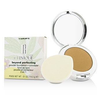 Clinique Beyond Perfecting Base en Polvo + Corrector - # 14 Vanilla (MF-G)