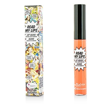 TheBalm Read My Lips (Brillo Labios Con Ginseng) - #Pop!