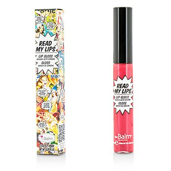 TheBalm Read My Lips (Lip Gloss Infused With Ginseng) - #Pow!