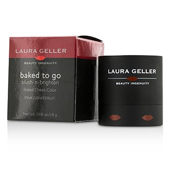 Laura Geller Baked To Go Blush N Brighten Color Mejillas - #Pink Grapefruit