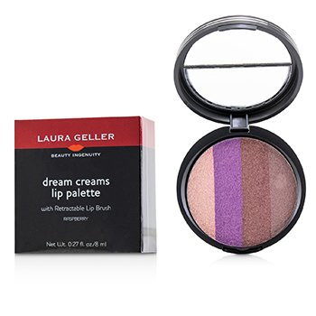 Laura Geller Dream Creams Paleta para Labios con Pincel Retractable - #Raspberry
