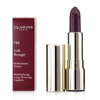 Clarins Joli Rouge (Long Wearing Moisturizing Lipstick) - # 744 Soft Plum