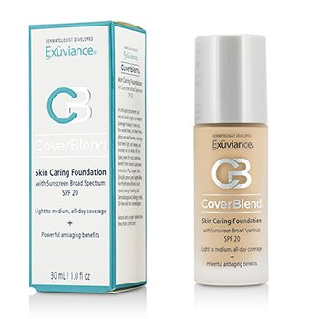 Exuviance CoverBlend Skin Caring Base SPF20 - # True Beige