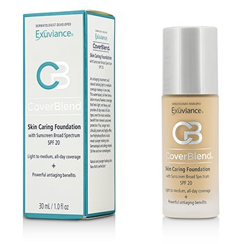 CoverBlend Skin Caring Base SPF20 - # Blush Beige