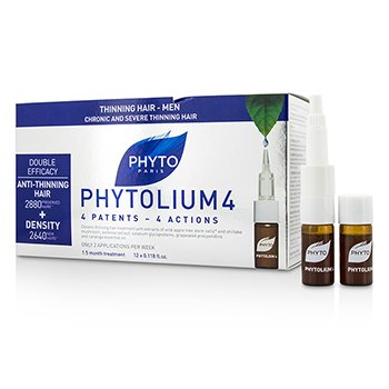 Phytolium 4 Chronic and Severe Anti-Thinning Hair Concentrado (Para Pérdida de Densidad - Hombres)