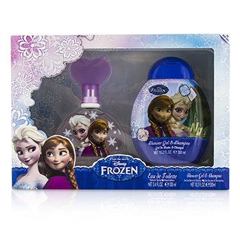 Air Val International Disney Frozen Coffret: Eau De Toilette Spray 100ml + Gel de Ducha & Champú 300ml