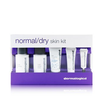 Dermalogica Set Piel Normal/Seca: Limpiador + Tónico + Smoothing Crema + Exfoliante + Eye Reapir