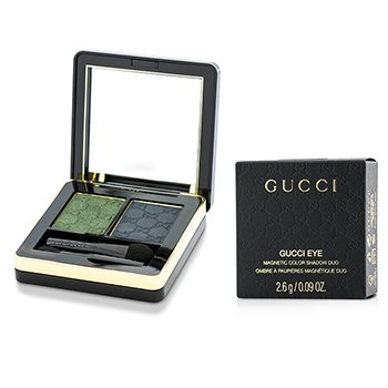 Gucci Magnetic Color Shadow Duo - #080 Malachite