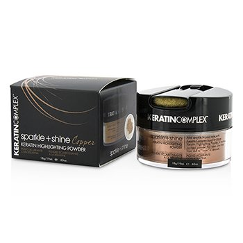 Keratin Complex Fashion Therapy Sparkle + Shine Keratin Polvo Iluminador - # Copper