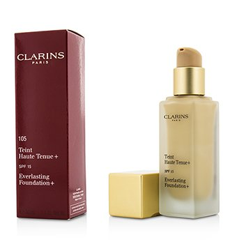 Clarins Everlasting Base  SPF15 - # 105 Nude