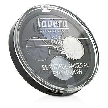 Lavera Beautiful Cuarteto Color Ojos Mineral - # 07 Blue Platinum