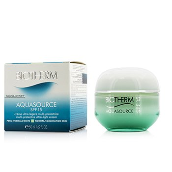 Biotherm Aquasource Multi-Portective Ultra-Light Cream SPF 15 - For Normal/Combination Skin