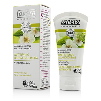 Lavera Organic Green Tea & Calendula Mattifying Balancing Cream (For Combination Skin) 61724 ok