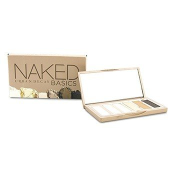 Urban Decay Naked Basics Eyeshadow Palette: 6x Eyeshadow (Crave, Faint, Foxy, Naked2, Venus, Walk of Shame)