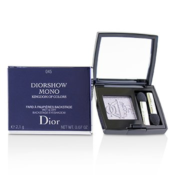 Christian Dior Kingdom of Colors Diorshow Mono Sombra de Ojos Mojada & Seca (Edición Limitada) - # 045 Fairy Grey