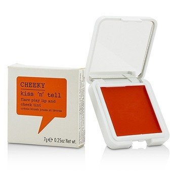 Cheeky Kiss N Tell Tinte de Labios Y Mejillas - Flare Play