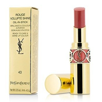 Yves Saint Laurent Rouge Volupte Shine Aceite en Barra - # 43 Rose Rive Gauche
