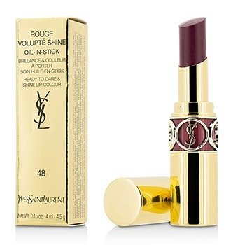Yves Saint Laurent Rouge Volupte Shine Aceite En Barra - # 48 Smoking Plum