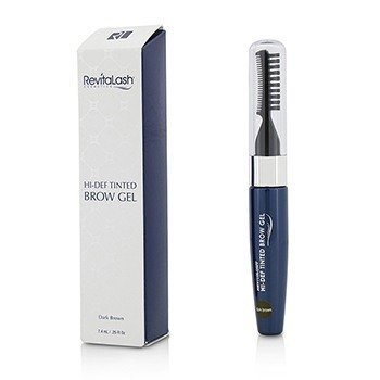 RevitaBrow Hi Def Gel de Cejas con Tinte - Dark Brown