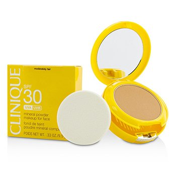 Clinique Sun SPF 30 Maquillaje Mineral en Polvo Para el Rostro - Moderately Fair
