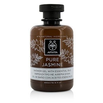 Apivita Pure Jasmine Shower Gel With Essential Oils