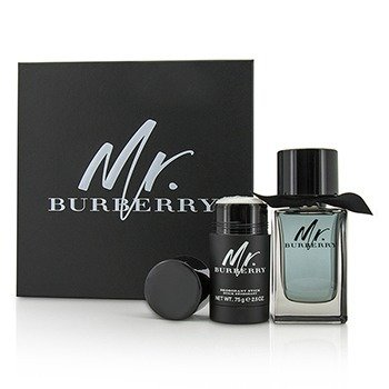 Burberry Mr. Burberry Coffret: Eau De Toilette Spray 100ml + Desodorante en Barra 75g
