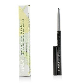 Clinique Kajal Negro de Alto Impacto - # 01 Blackned Black