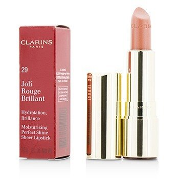 Clarins Joli Rouge Brillant (Pintalabios Hidratante Brillo Perfecto) - # 29 Tea Rose
