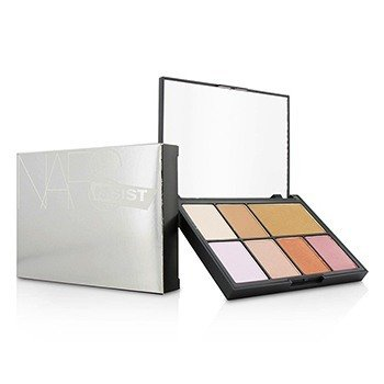 NARS NARSissist Cheek Studio Palette (4x Blush, 1x Bronzing Powder, 2x Contour Blush)