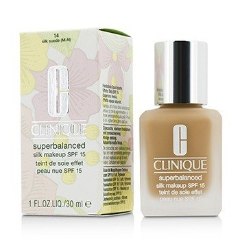 Clinique Superbalanced Maquillaje Sedoso SPF 15 - # 14 Silk Suede (M-N)