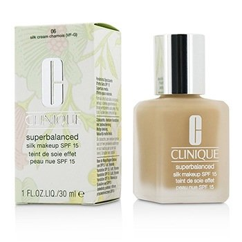 Clinique Superbalanced Silk Maquillaje SPF 15 - # 06 Silk Cream Chamois (VF-G)