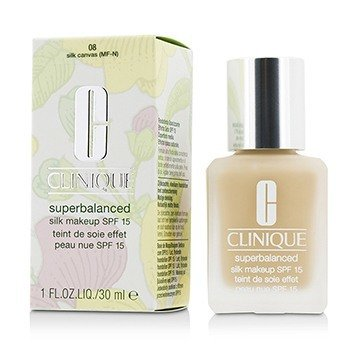 Clinique Superbalanced Maquillaje Sedoso SPF 15 - # 08 Silk Canvas (MF-N)