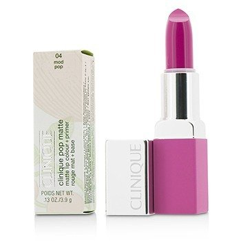 Clinique Pop Matte Color de Labios + Primer - # 04 Mod Pop