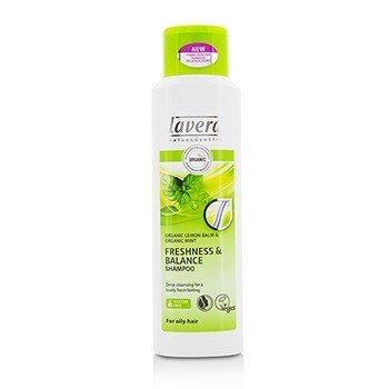 Lavera Organic Lemon Balm & Organic Mint Freshness & Balance Shampoo (For Oily Hair)