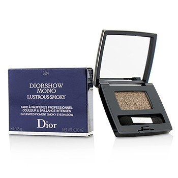 Christian Dior Diorshow Mono Lustrous Smoky Saturated Pigment Smoky Sombra de Ojos - # 684 Reflection