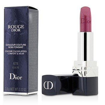 Christian Dior Rouge Dior Couture Colour Comfort & Wear Pintalabios - # 678 Culte