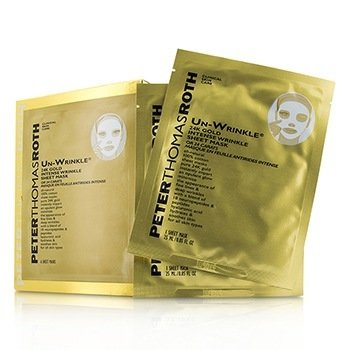 Peter Thomas Roth Un-Wrinkle 24K Gold Intense Hoja Mascarilla de Arrugas