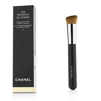 Chanel 2 In 1 Foundation Brush (Fluid And Powder)