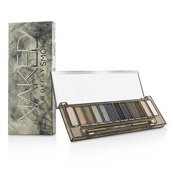 Urban Decay Naked Smoky Eyeshadow Palette: 12x Eyeshadow, 1x Doubled Ended Shadow Blending Brush S1924700
