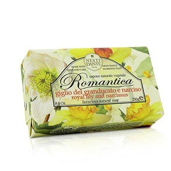 Nesti Dante Romantica Luxurious Jabón Natural - Royal Lily & Narcissus
