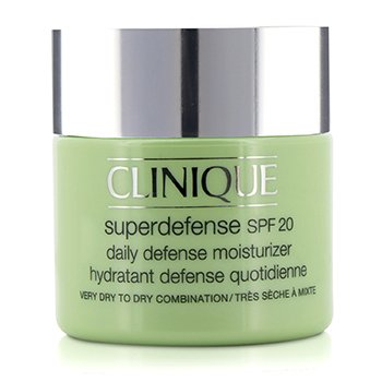 Clinique Superdefense Hidratante Defensa Diaria SPF 20 (Piel Muy Seca a Seca Mixta)