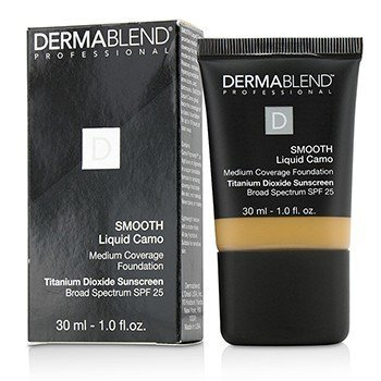 Dermablend Smooth Liquid Camo Base SPF 25 (Cobertura Media) - Honey (45W)