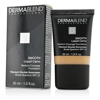 Dermablend Smooth Liquid Camo Base SPF 25 (Cobertura Media) - Honey Beige (50C)