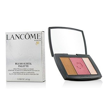 Lancome Blush Subtil Palette (3x Colours Powder Blusher) - # 341 Petal Pushing (US Verison)
