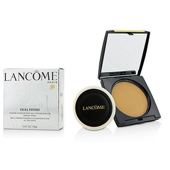 Lancome Dual Finish Polvo & Base En Unan Multi Tarea - # 360 Honey III (W) (Versión US)
