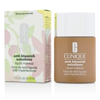 Clinique Anti Blemish Solutions Maquillaje Líquido - # 18 Fresh Cream Caramel