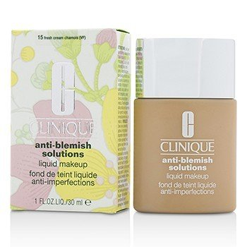 Clinique Anti Blemish Solutions Maquillaje Líquido - # 15 Fresh Cream Chamois
