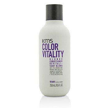 KMS California Color Vitality Blonde Acondicionador (Anti-Amarillamiento y Reparador)